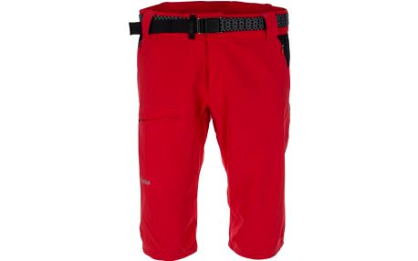 Pánské technické 3/4 kalhoty KILPI SOPHIN červená