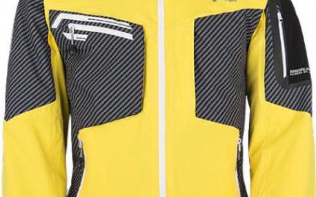 Pánská lyžařská technická bunda KILPI BENJAMIN žlutá