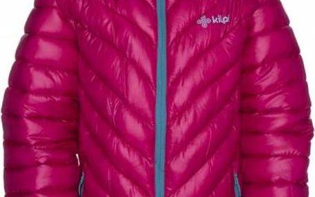 Juniorská zimní bunda KILPI BRASKI-JG růžová