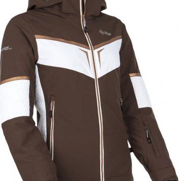 Dámská lyžařská bunda KILPI FIONA hnědá 422