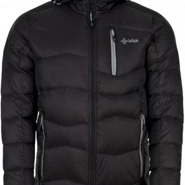Pánská zimní péřová bunda KILPI NESTORE černá