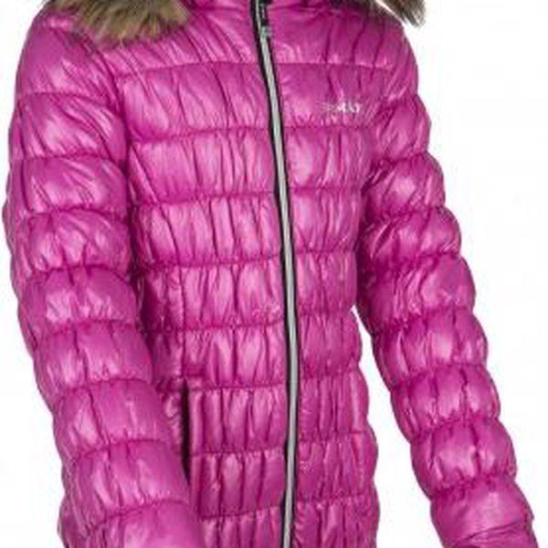 Dívčí zimní sportovní kabátek KILPI BRIELLE-JG Růžová 1462