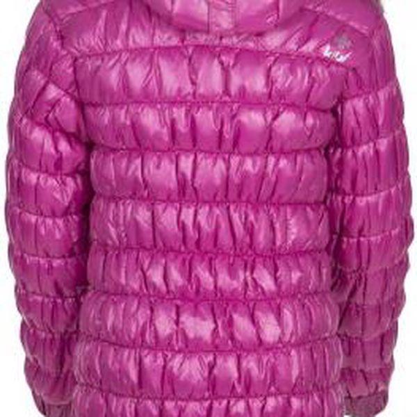 Dívčí zimní sportovní kabátek KILPI BRIELLE-JG Růžová 1463