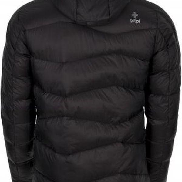 Pánská zimní péřová bunda KILPI NESTORE černá 3XL2