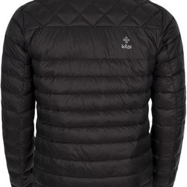 Pánská zimní lehká péřová bunda KILPI EVERETT tmavě šedá XL3