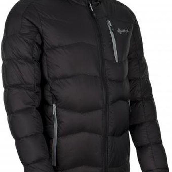 Pánská zimní péřová bunda KILPI NESTORE černá 3XL3