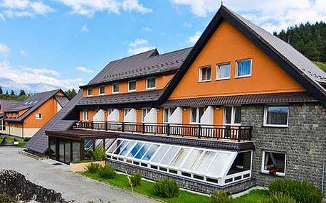 Léto ve Vysokých Tatrách v hotelu Sipox*** v malebném údolí obce Štrba