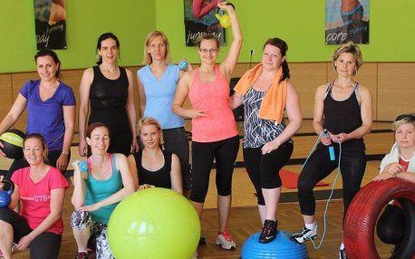 Jumping fitness víkend pro ženy v Krkonoších