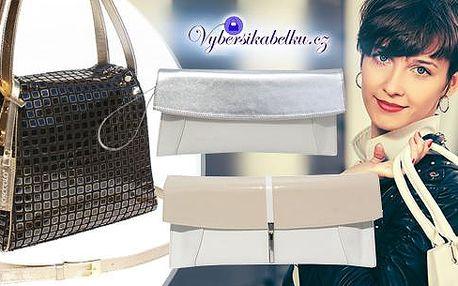 Kvalitní kabelka či psaníčko z eko kůže, nebo luxusní kabelka ze 100% pravé kůže