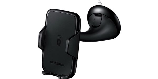 Držák na mobil Samsung univerzální s funkcní bezdrátového nabíjecí (EP-HN910IBEGWW) černé