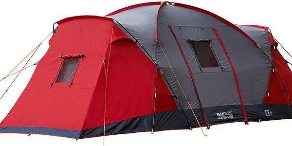 Campingový stan pro 6 osob Regatta RCE006 ATLIN 6 Peppr atlin65