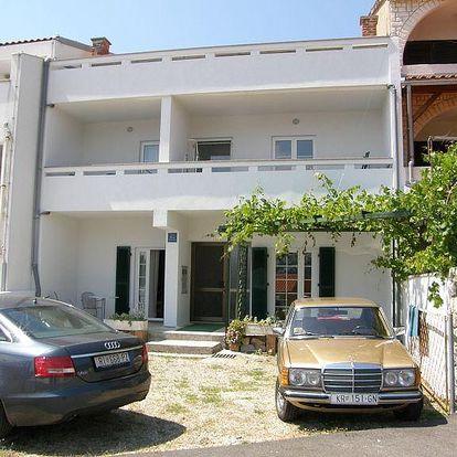 Chorvatsko - Apartmány 197-76 - Ostrov Krk / bez stravy, vlastní doprava, 13 nocí, 4 osoby