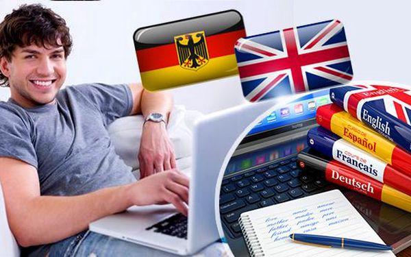 Online angličtina nebo němčina: 1000 slov, okamžité doručení zdarma a 10x rychlejší učení