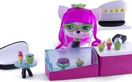 Kavárna VIP PETS s mazlíčkem 11cm v novém designu v krabičce