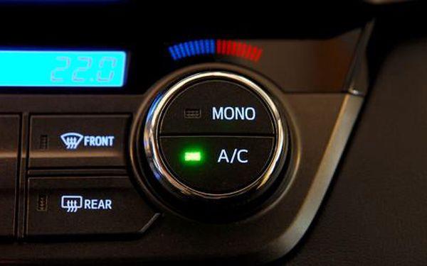 Kompletní servis klimatizace automobilu včetně plnění + 400 g chladiva zdarma