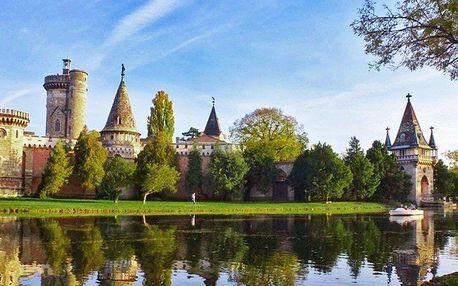 Město růží a zámek Laxenburg s plavbou po jezeře