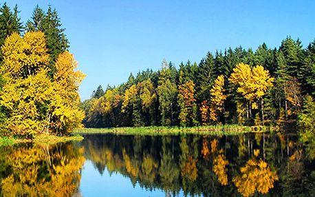 Dovolená v jižních Čechách pro DVA s polopenzí a rybářskou povolenkou