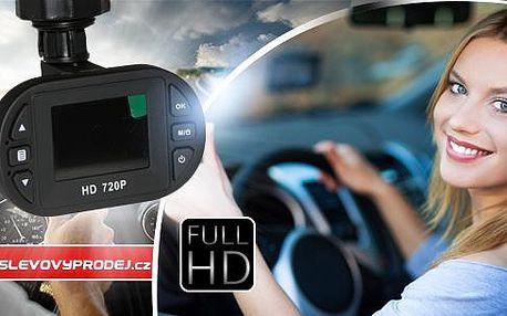 Full HD kamera do auta pro snímání dopravní situace před vozidlem včetně poštovného