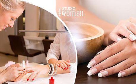 Péče o nehty: Manikúra a aplikace CND Shellac či gel lak nebo japonská manikúar P-shine