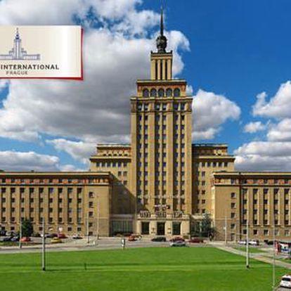 2 nebo 3denní pobyt v Praze v historické budově Hotelu International Prague****