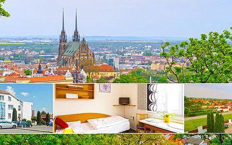 Víkend v Brně v Hotelu Gregor*** pro dva