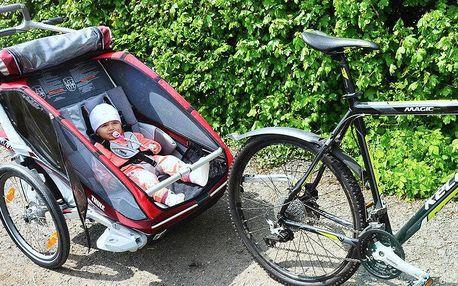 Jednodenní půjčení dětského vozíku za kolo