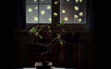 Světélkující listí 21 x 24.5 cm