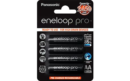 Panasonic 3HCCE/4BE ENELOOP PRO AA 4x - BK-3HCDE/4BE