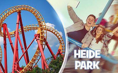1denní zájezd do parku Heide Park pro 1 osobu s dopravou a vstupy na atrakce, 29.10.2016