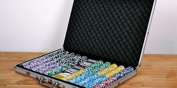 Garthen ULTIMATE 1029 Pokerový kufr 1000 ks žetonů2
