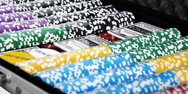 Garthen ULTIMATE 1029 Pokerový kufr 1000 ks žetonů4