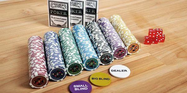 Garthen ULTIMATE 1029 Pokerový kufr 1000 ks žetonů5