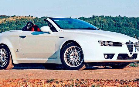 Zapůjčení luxusního kabrioletu Alfa Romeo Spider