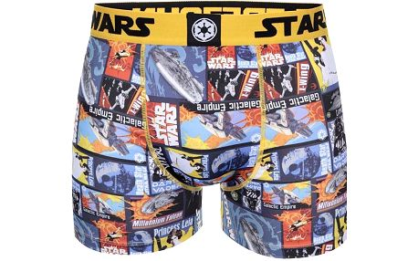 Barevné potištěné boxerky Star Wars Freegun