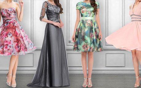 Slevový voucher na nákup společenských šatů