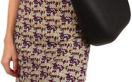 Barevné letní plážové šaty fialová