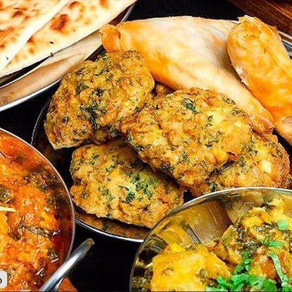 Bohaté indické menu pro dva v Namaskaru