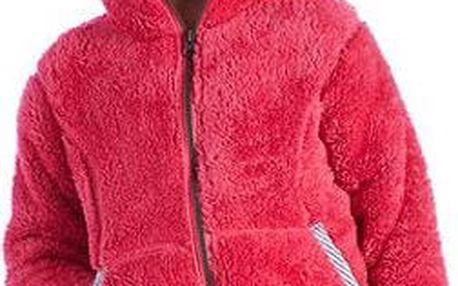Dětská fleece mikina Regatta RKA101 SWEETCHEEKS Tulip Pink