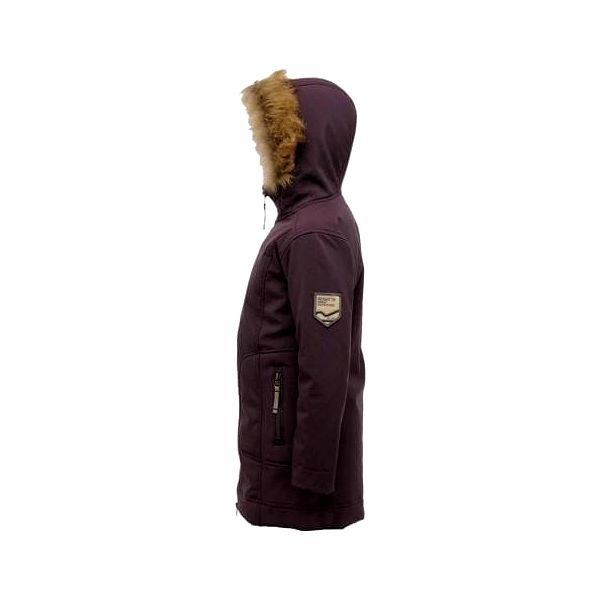Dívčí kabát Regatta RKL050 WINTERSTAR II PlumWine2