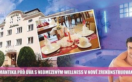 Luxusní podzimní dárek pro 2 osoby v romantickém zákoutí Krušných hor.