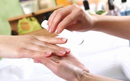 Japonská manikúra P - shine + masáž rukou zdarma a možnost CND Shellac