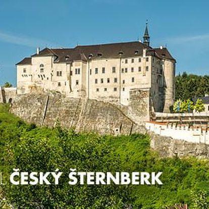 Šternberk: pobyt pro 2 osoby na 3 dny a 2 noci + polopenze, káva a dezert na hradě