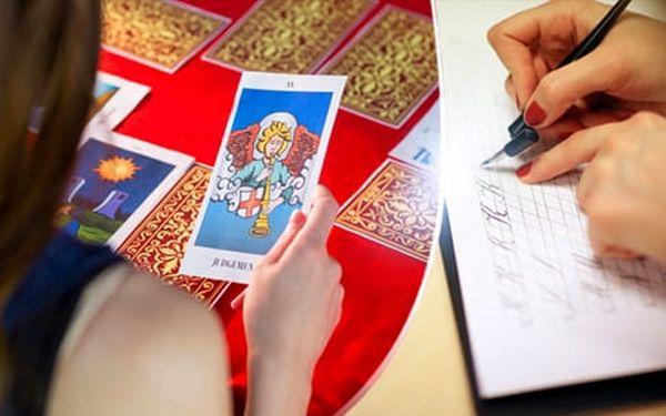 Výklad karet telefonicky či on-line, novoroční horoskop, numerologie nebo grafologický rozbor2
