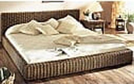 Ratanová postel 180cm
