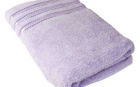 Stanex Ručník Montána, bavlna, froté, 550g, světle fialová, 50x100cm