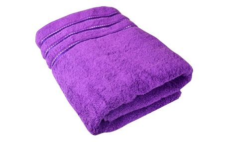 Stanex Ručník Montána, bavlna, froté, 550g, tmavě fialová, 50x100cm