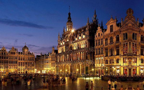 Belgie plná překvapení 2021, autobusem, snídaně v ceně2