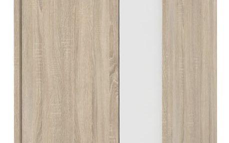 Závěsná skříňka GAEL 12, dub sonoma/bílá