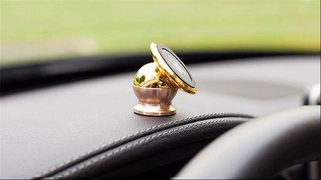 Magnetický držák mobilu zlaté barvy