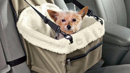 Taška na psa do auta